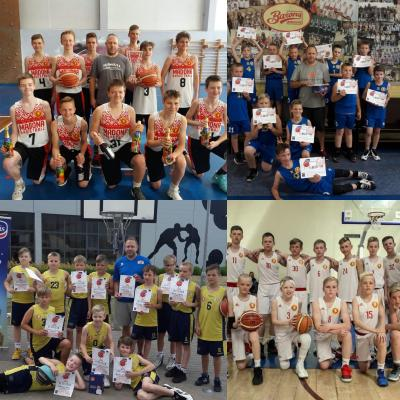 Basketbola dienas nometnes zēniem.