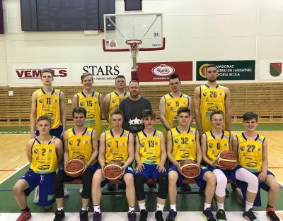 U-19 basketbolisti- septītie Latvijā.