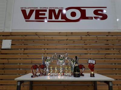 """Madonas pilsētas atklātais basketbola turnīrs """"VEMOLS Ziemassvētku kauss-2018""""."""