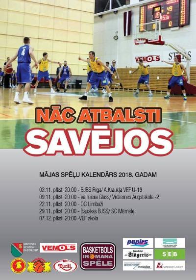 Piektdien 20.00 LBL2 spēle BK MADONA/BJSS - Valmiera Glass/Via-2